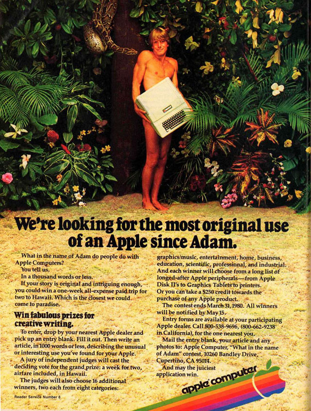 "1979 Apple II ""Adam"" Ad"