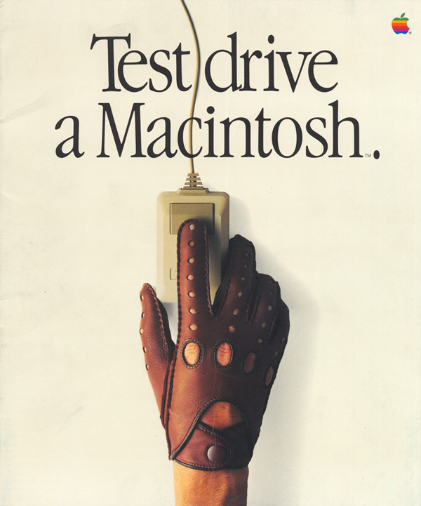 "1984 ""Test Drive a Macintosh"" Brochure"