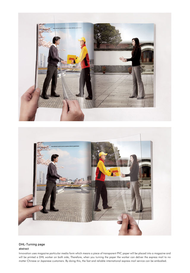 DHL: Turning Page