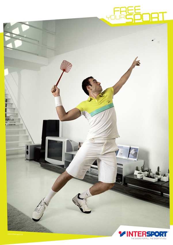 Intersport - Free Your Sport - Tennis