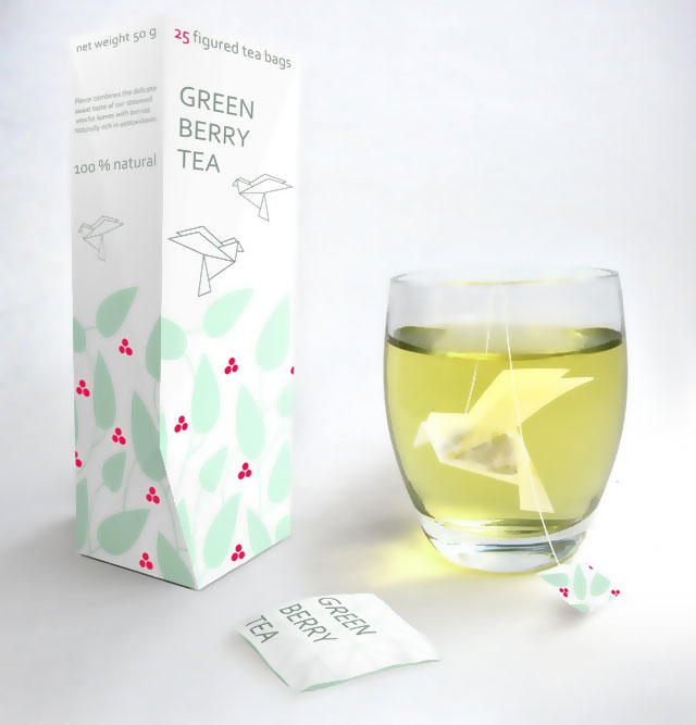 Nathalia Ponomareva: Green Berry Tea