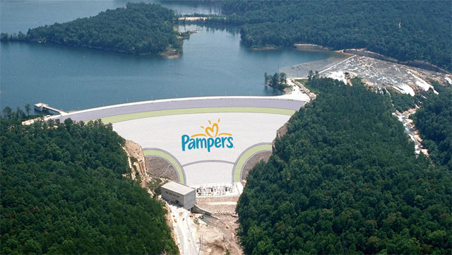 Pampers: Dam