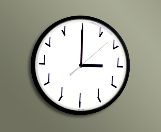Dublicated Clock