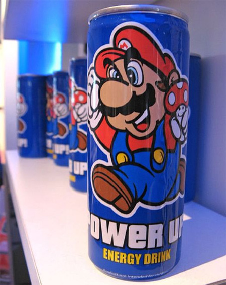 Energy Drink: Super Mario