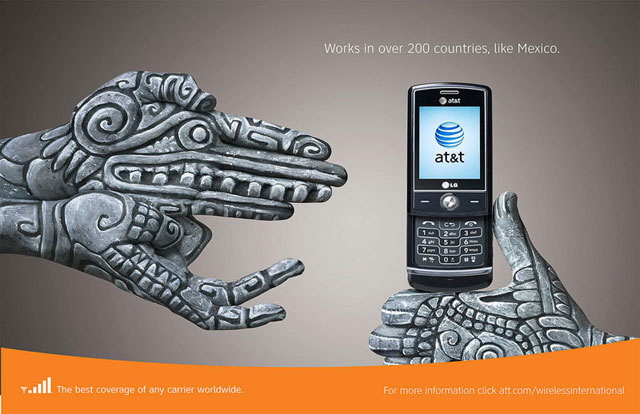 AT&T: Hand Art (Mexico)