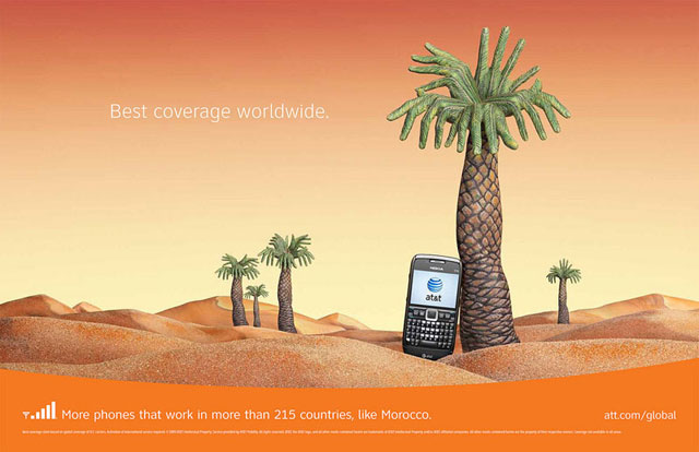 AT&T: Hand Art (Morocco)