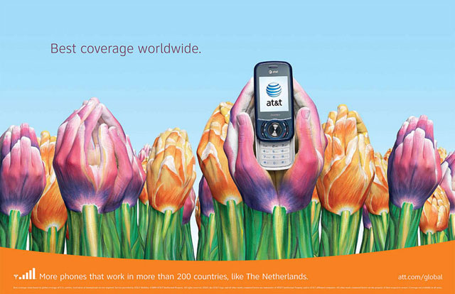 AT&T: Hand Art (Netherlands)