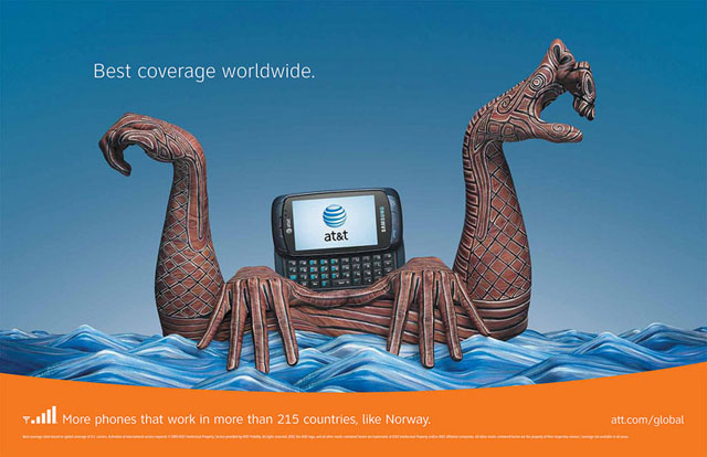 AT&T: Hand Art (Norway)