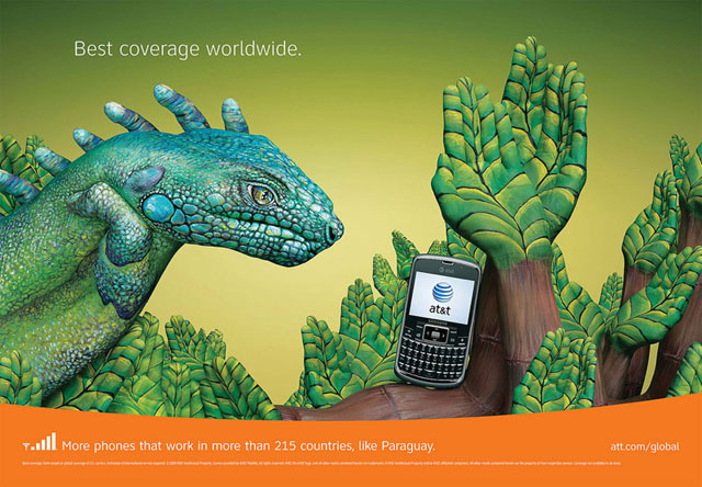 AT&T: Hand Art (Paraguay)