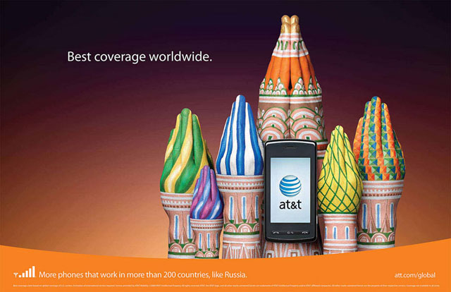 AT&T: Hand Art (Russia)