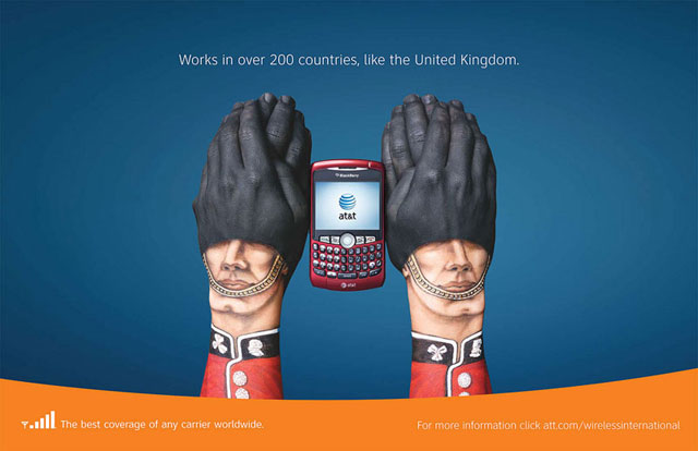 AT&T: Hand Art (United Kingdom)