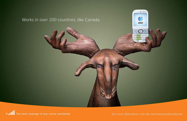AT&T: Hand Art (Canada)