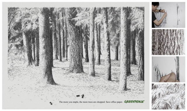 Greenpeace China: Staple Trees