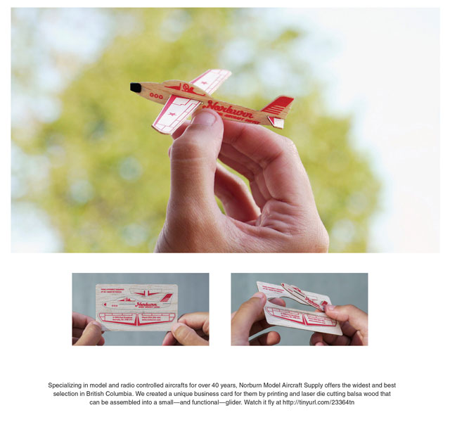 Norburn Model Aircraft Supply: Business Card