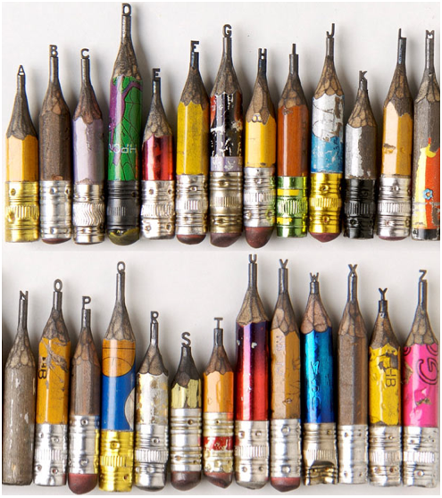 Miniature Pencil Art by Dalton Ghetti