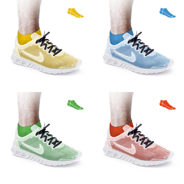 Nike Transparent by Repponen