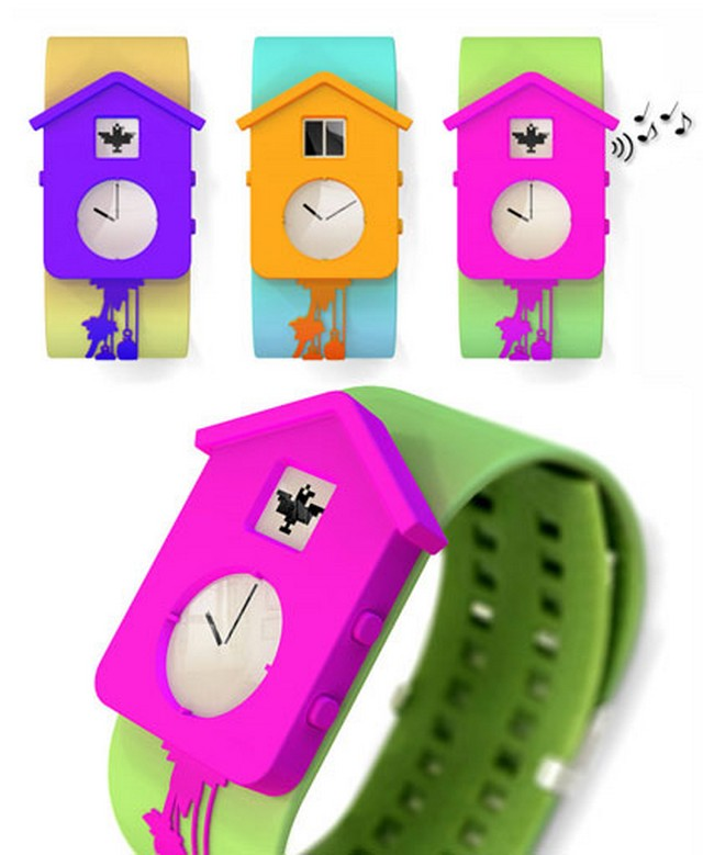 Bird House Wristwatch