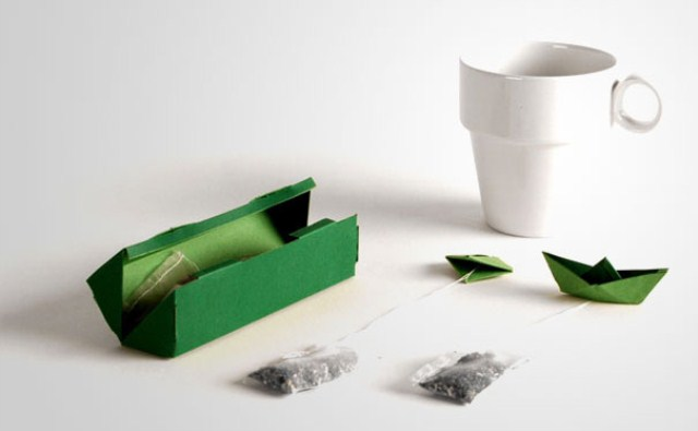 Tea Bags Package Design