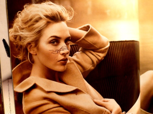 Kate Winslet Turtle Nose