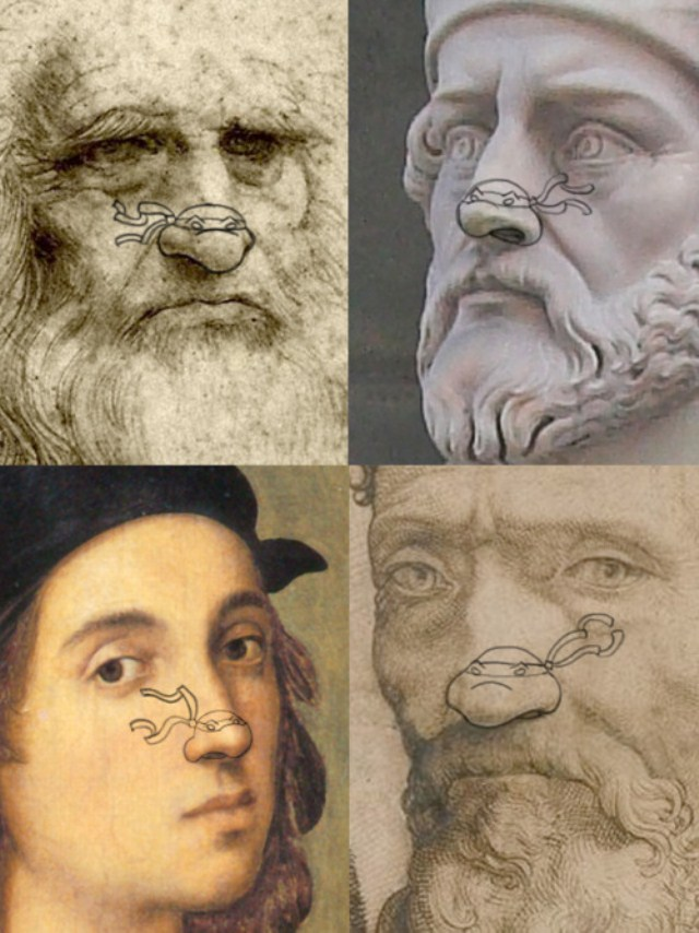 Genius People Renaissance Turtle Nose