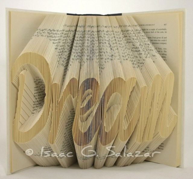 Book Art Isaac G Salazar Dream