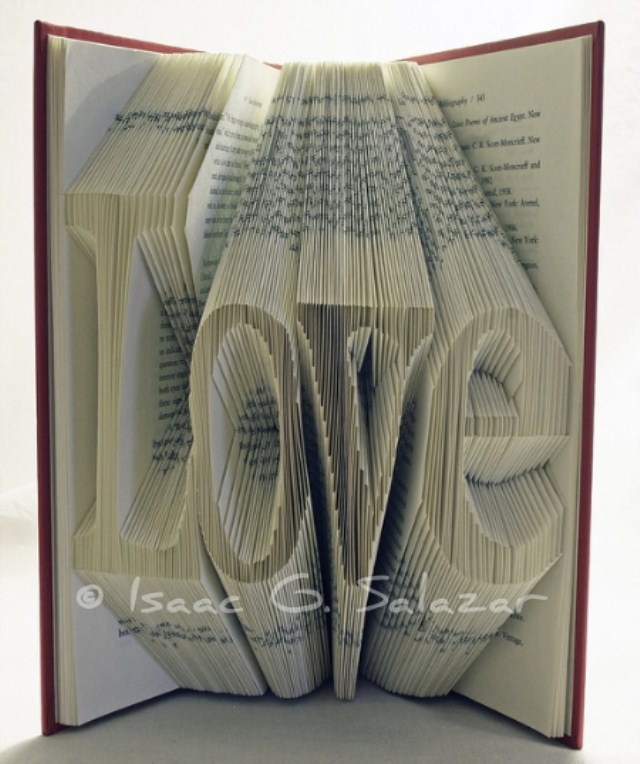 Book Art Isaac G Salazar Love