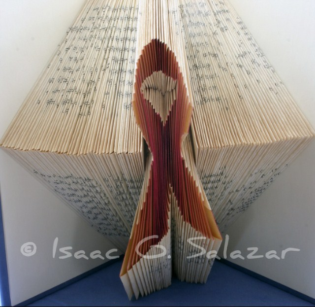 Book Art Isaac G Salazar Ribbon
