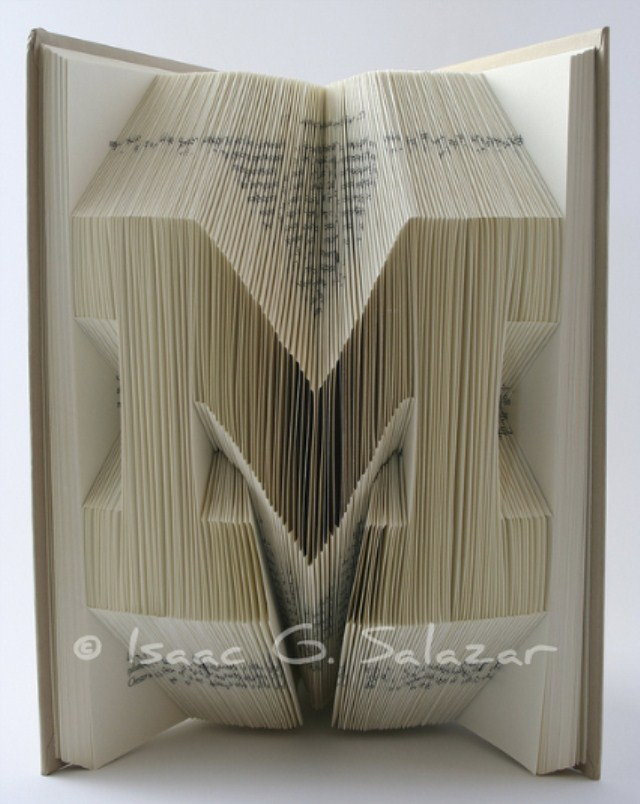 Book Art Isaac G Salazar University