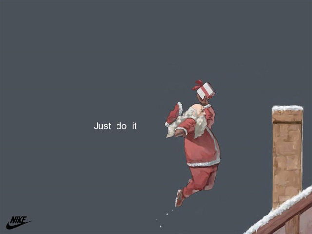 Just Do It, Santa