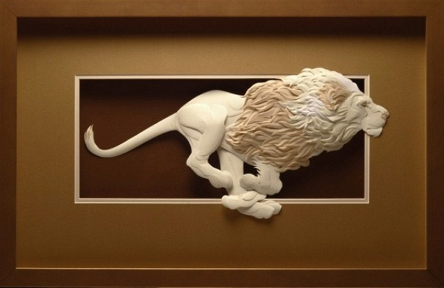 Paper Animals Calvin Niccols Lion