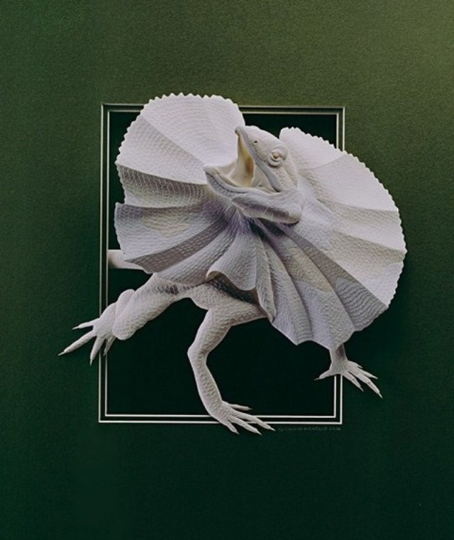 Paper Animals Calvin Niccols Lizard