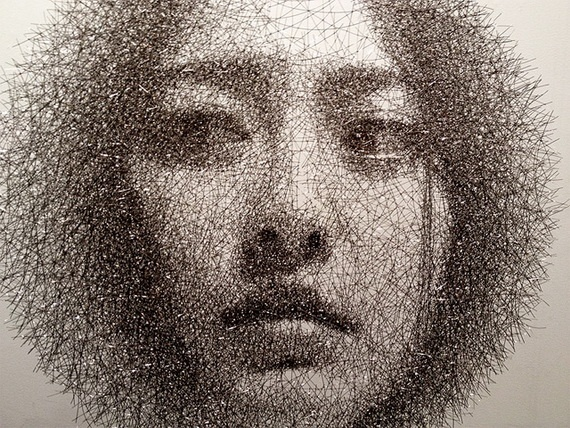 Seung Mo Park Wire Portraits