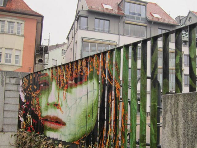 Zebrating Street Art